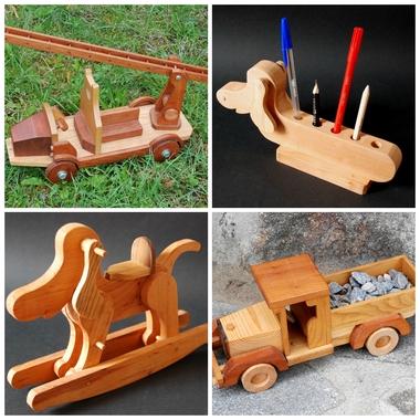 jouets de bois artisanat bois Ardèche